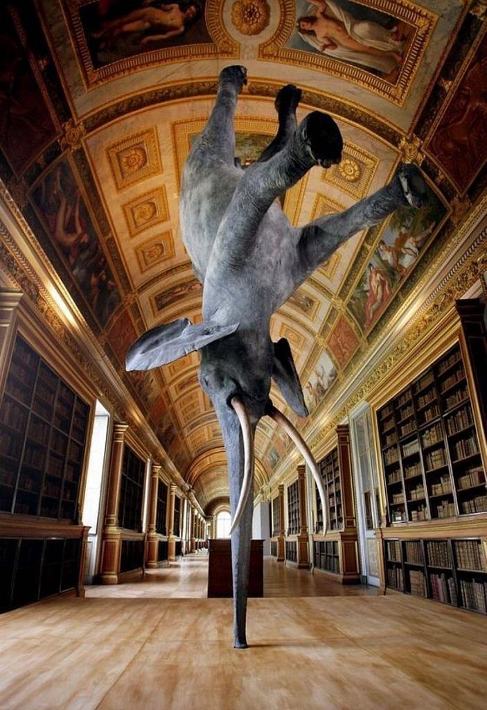 Удивительные скульптуры Парижа. Фото