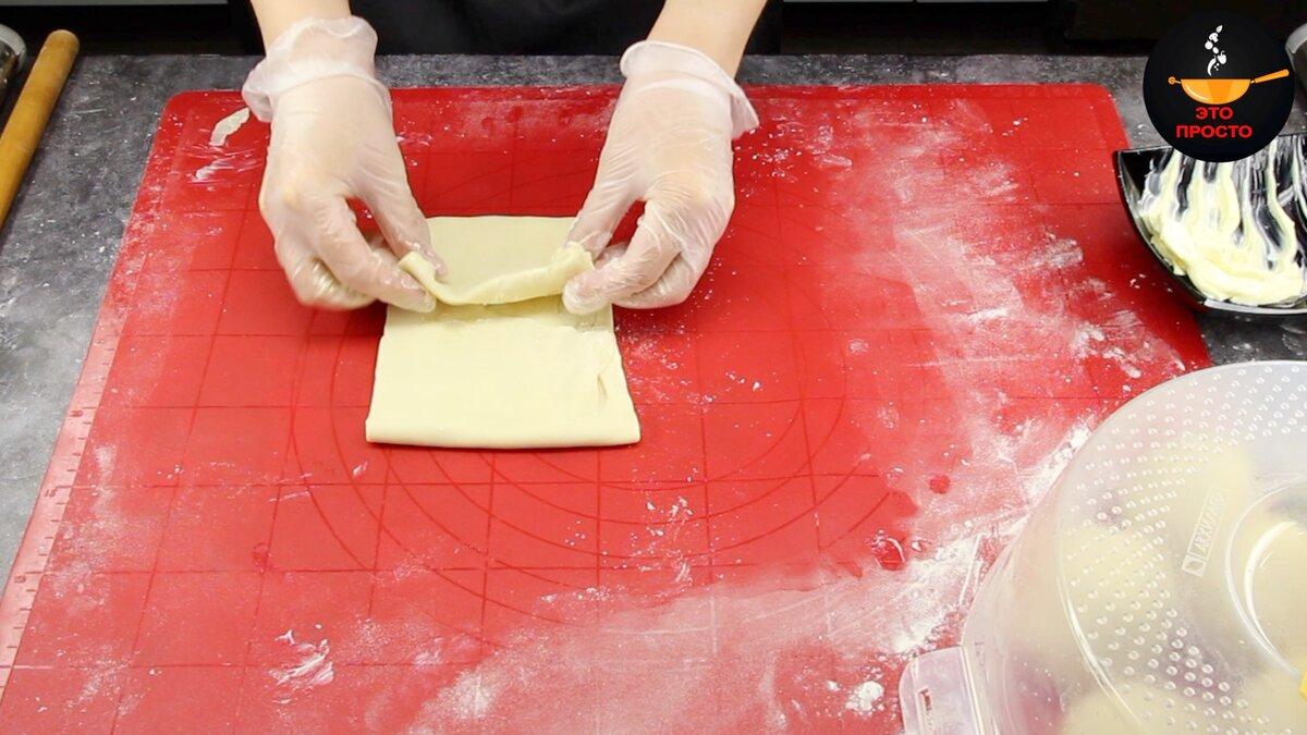 Только мука и кипяток: часто готовлю слоёные лепёшки вместо хлеба выпечка