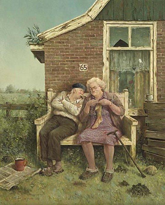 Смешные картинки о мужчинах и женщинах в деревне, стиле скрапбукинг
