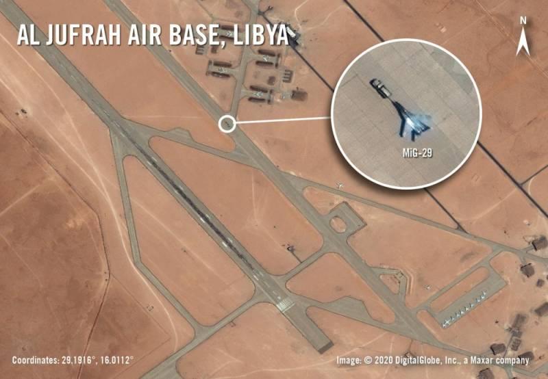 Откуда в Ливии российские самолёты?