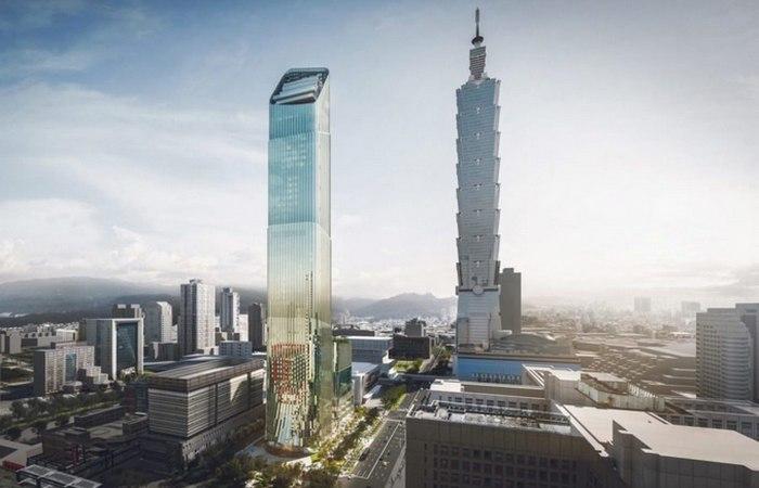 В Тайбэе появится «бамбуковый» небоскреб