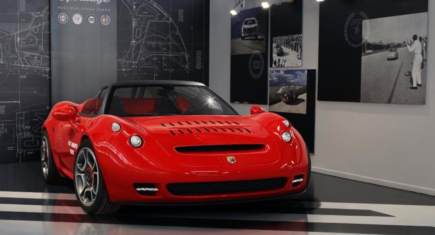 Модель Alfa Romeo 4C превратили в штучный спорткар Abarth 1000 SP Автомобили