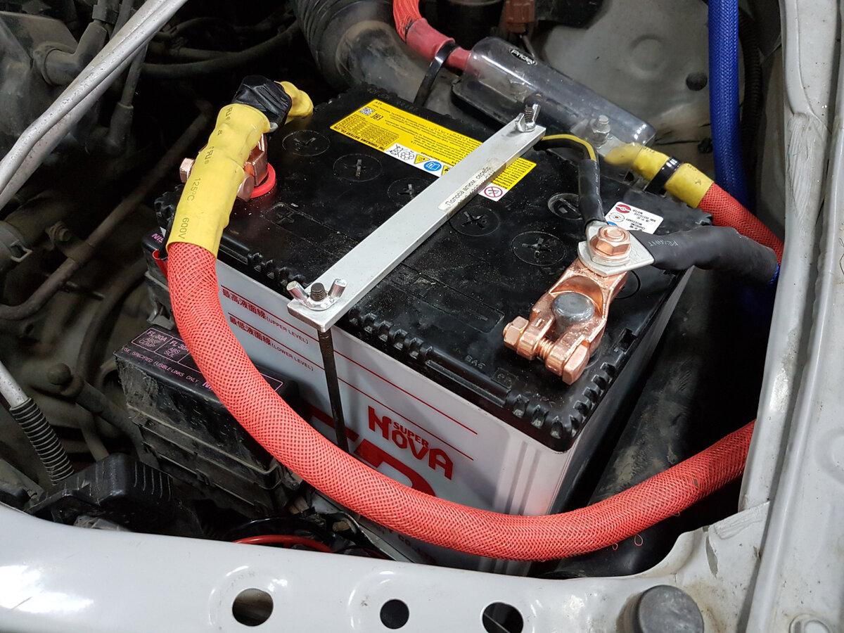 Можно ли устанавливать в машину аккумулятор большей ёмкости