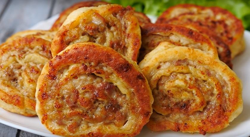 Мясные улитки: вкусный перекус с интересным тестом – не путать с пирожками