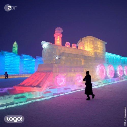 Потрясающие фотографии с Харбинского фестиваля снежных и ледяных скульптур 2019 фестиваль, фестивалем, снежных, ледяных, Постоянные, популярность, набирать, временем, жители, Китая, решено, только, участвовали, сначала, снега, крупнейшим, всему, международным, сделать, Хэйлунцзян