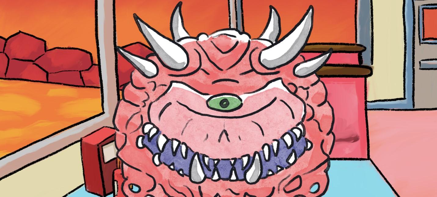 Бесплатный симулятор свиданий демонов вселенной DOOM