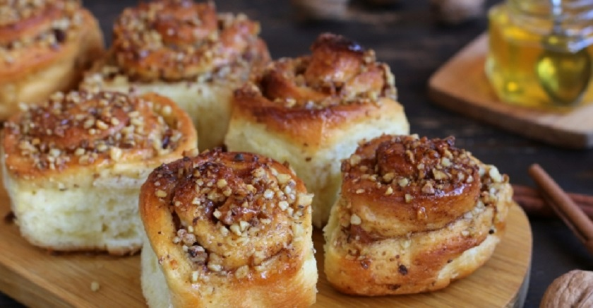 Ароматные булочки с медом: невозможно остановиться!