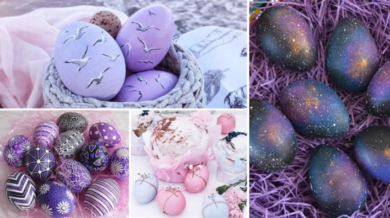 Как необычно покрасить яйца на Пасху: простые и красивые способы