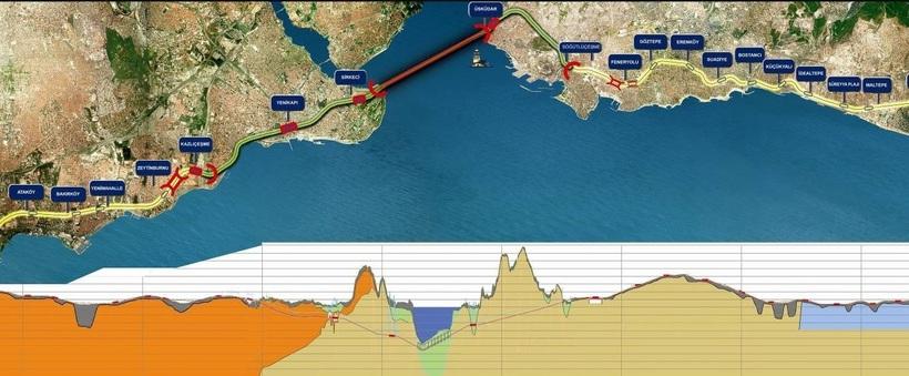 Как Турция построила сверхпрочный тоннель под Босфором, соединивший Европу и Азию Босфор,интересное,наука,технологии,тоннель,Турция