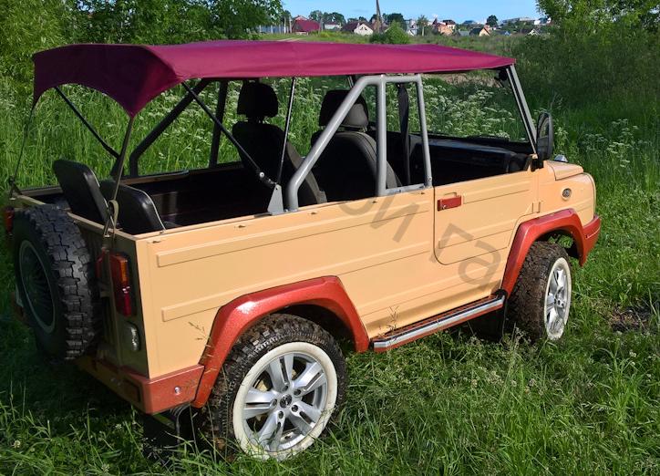 Взял неприметный ЛуАЗ-969 и превратил в стилягу авто