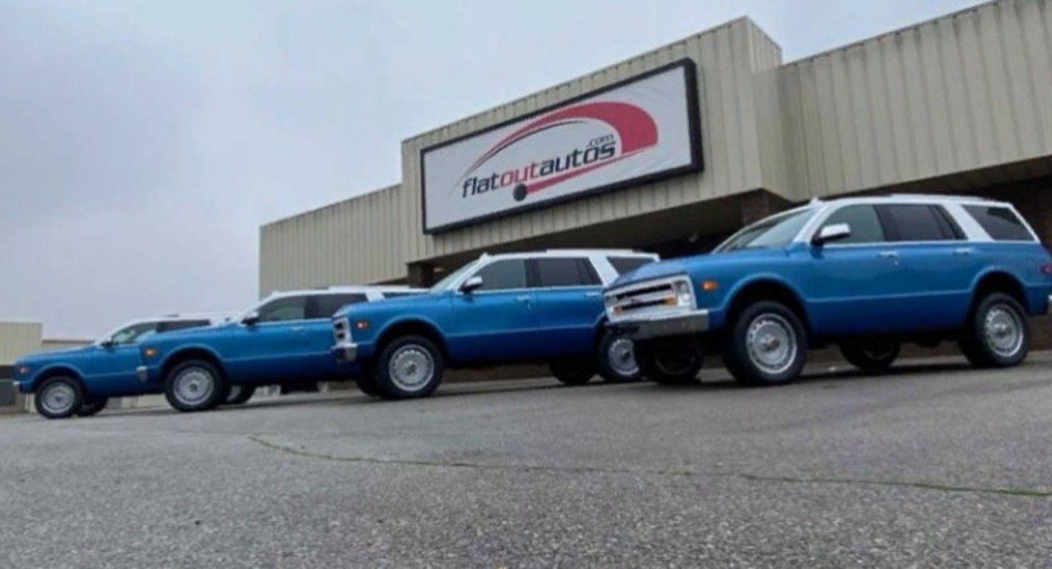 Все выпущенные Chevrolet Tahoe в стиле 60-х выкупил один клиент Автомобили