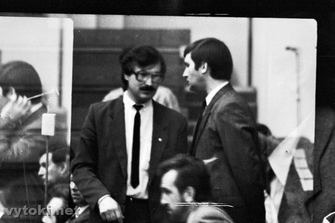 Гончар и Голубев, 1991 год. Фото с сайта vytoki.net