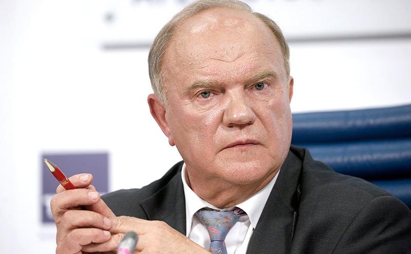 Геннадий Зюганов: «Без левоцентристского курса дело кончится  развалом страны»