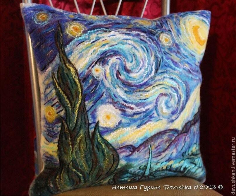 Валяные подушки валяние из шерсти,рукоделие,своими руками,сделай сам