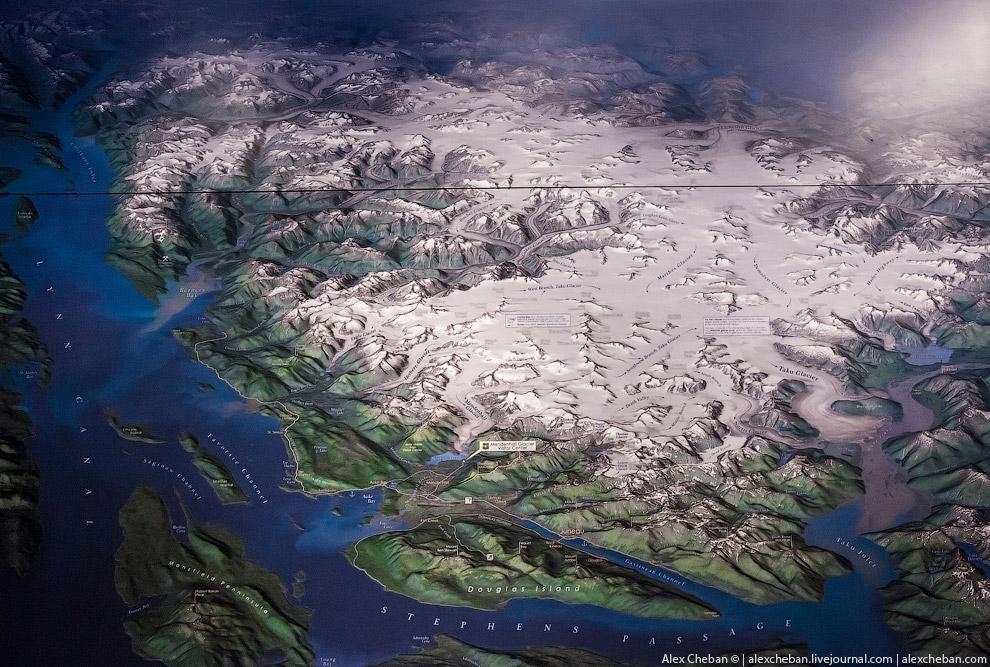 Ледник Менденхол (Mendenhall)