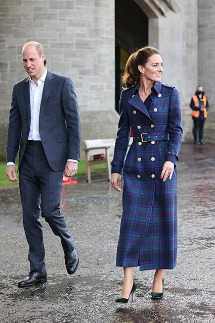 Кейт Миддлтон и принц Уильям устроили свидание в городе своей юности Монархии