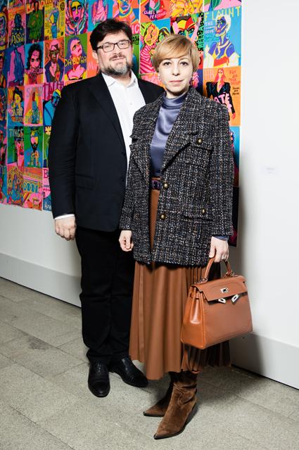 Сати Казанова, Полина Аскери, Влад Лисовец, Татьяна Геворкян и другие на Art Russia Fair Светская жизнь