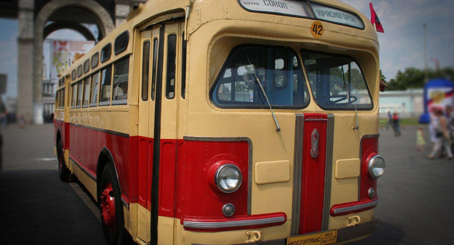 ЗИС-154 — советский автобус с гибридной силовой установкой Автомобили