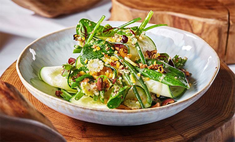 Что приготовить в пост: салат из киноа, цукини и кумквата Стиль жизни,Еда и рецепты