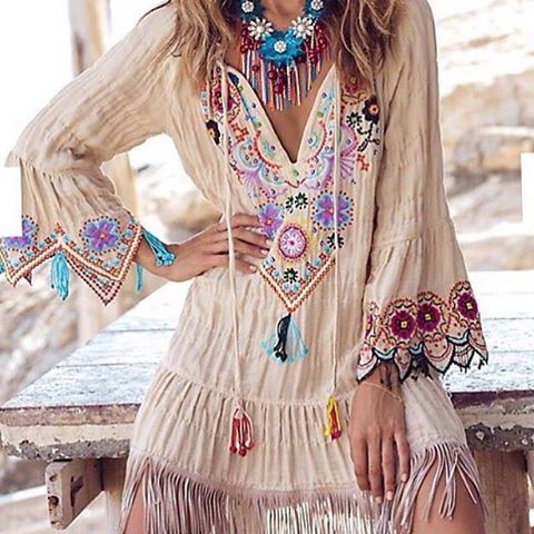 Amazing ╰☆╮Boho chic bohemian boho style hippy hippie chic bohème vibe gypsy fashion indie folk the 70s . ╰☆╮: