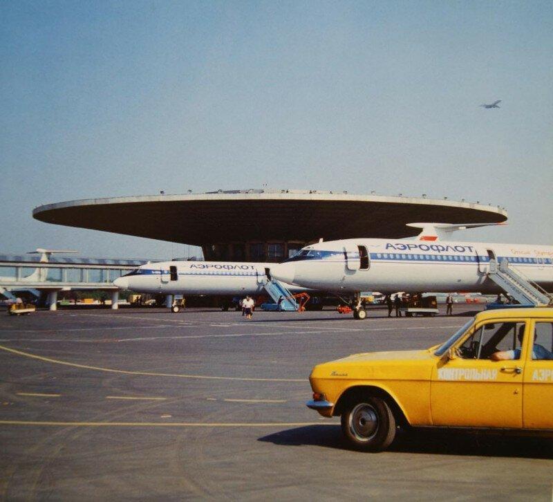 В аэропорту Шереметьево–1, 1978 год, Москва история, ретро, фото