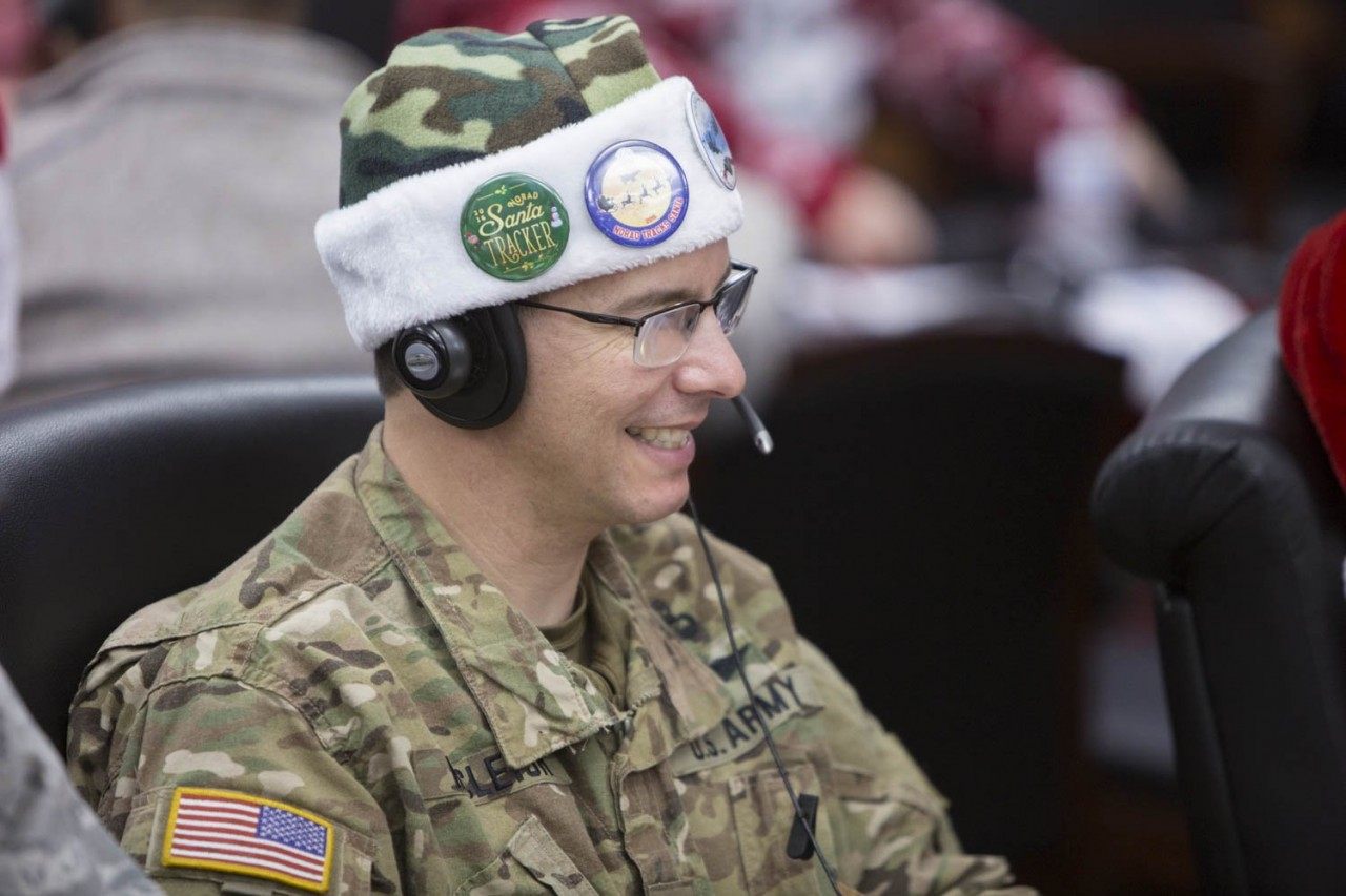 Американские ПВО обнаружили Санта-Клауса над Чукоткой