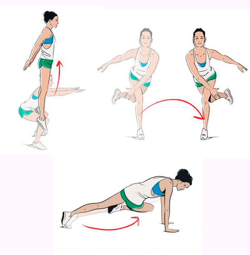 Упражнение для интенсивного похудение
