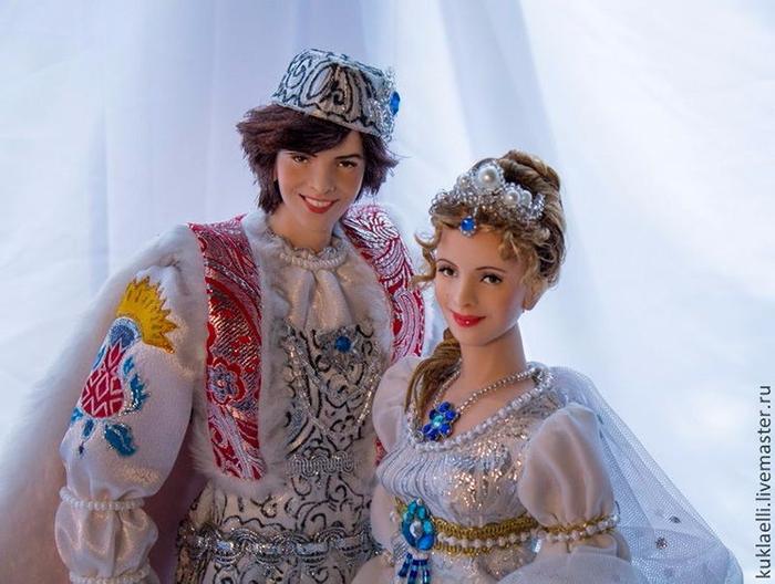 Чудо-куклы мастерицы Ларисы Исаевой