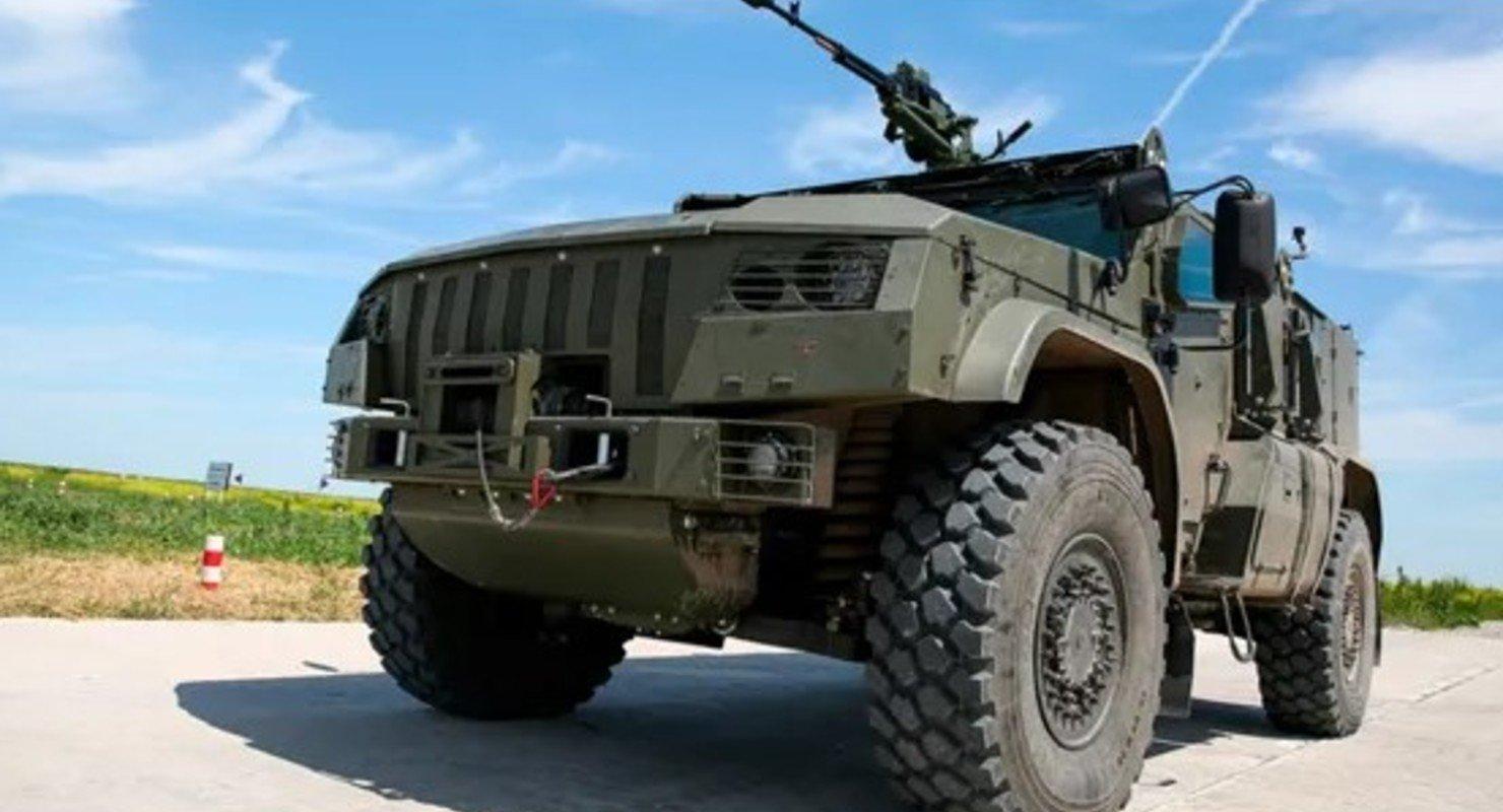 Российские военные назвали лучшие современные бронированные автомобили Автомобили