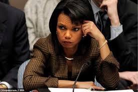 Вот вы тут сидите, а в мире шухер! И подняла его Кондолиза Райс - Экс-госсекретарь США.
