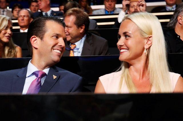 Жена Дональда Трампа-младшего подала на развод – СМИ
