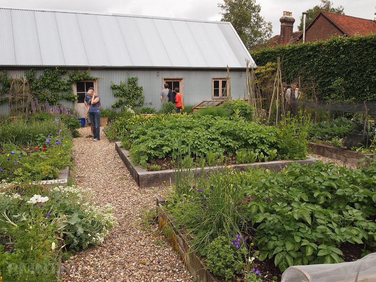 Картинки огородов с банями