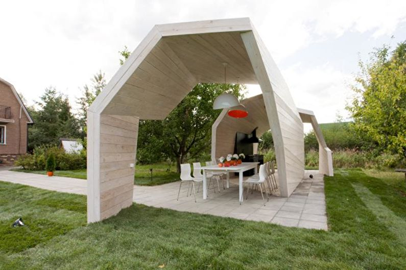 Ландшафтный дизайн дачного участка - Дополнительные постройки