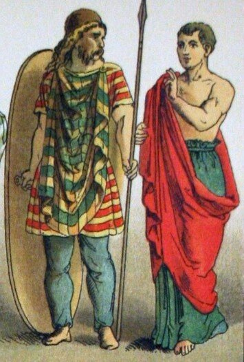 Вооружение и тактика галльских воинов. Что делало галлов такими опасными противниками? история