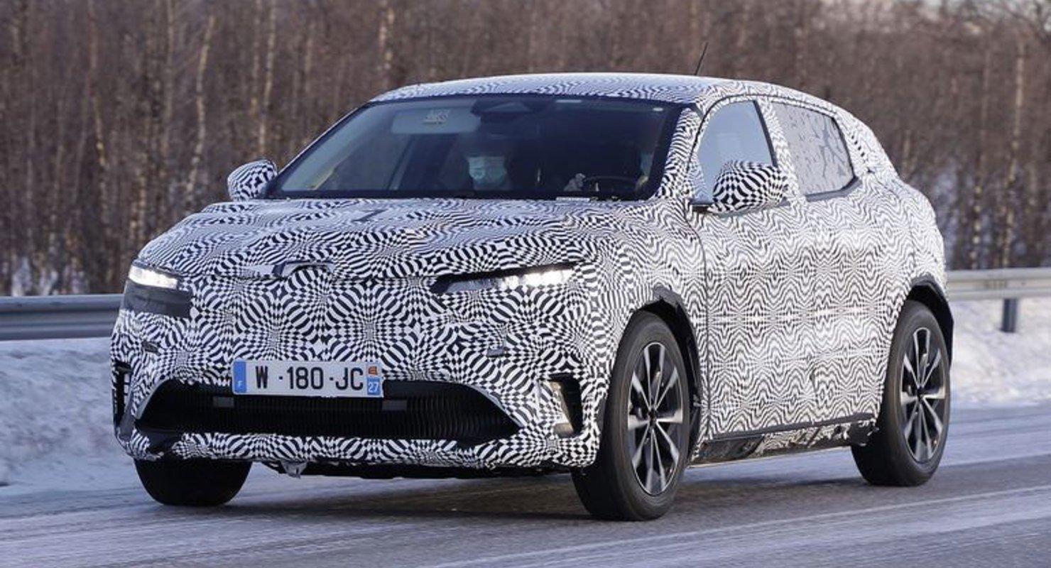 Renault выпустит электрический кроссовер Megane в 2021 году Автомобили