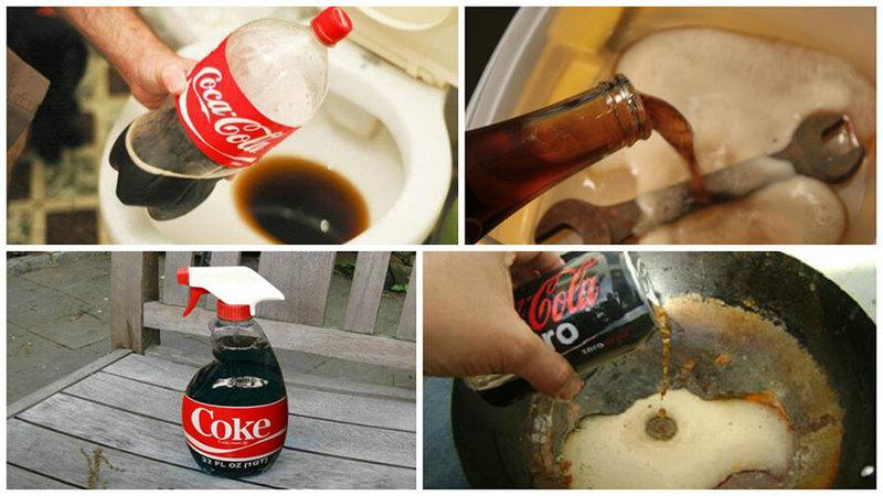 8 способов применения кока-колы, о которых вам будет интересно узнать