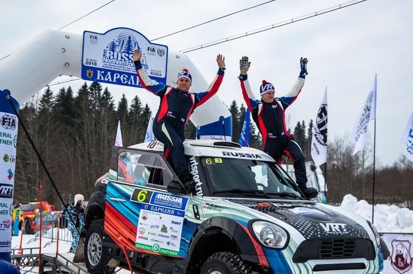 Этап Кубка мира по ралли-рейдам прошел в Карелии