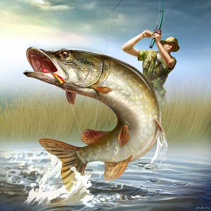 Первым рабочим, открытки для рыболова