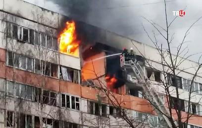 После взрыва газа в доме в П…