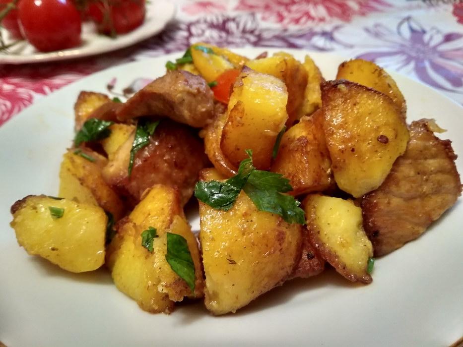 Оджахури — вкуснейшее мясо с…