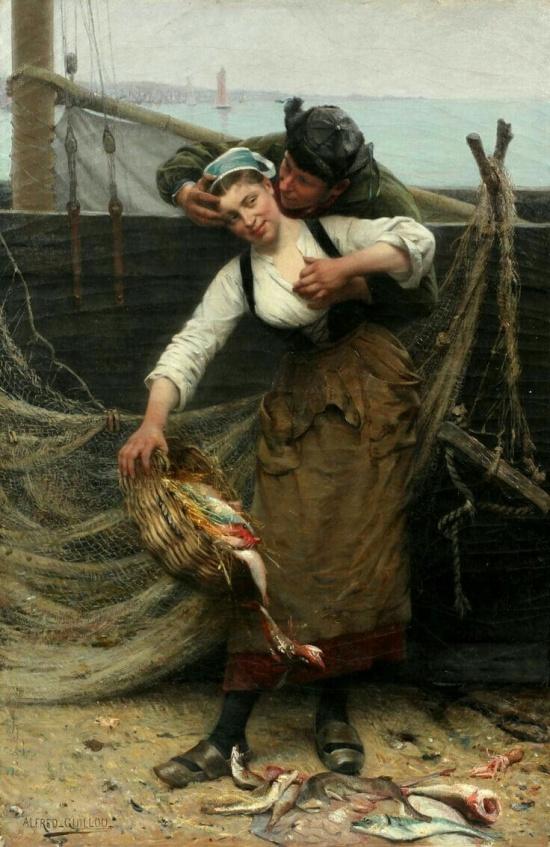 художник Альфред Гийу (Alfred Guillou) картины – 17