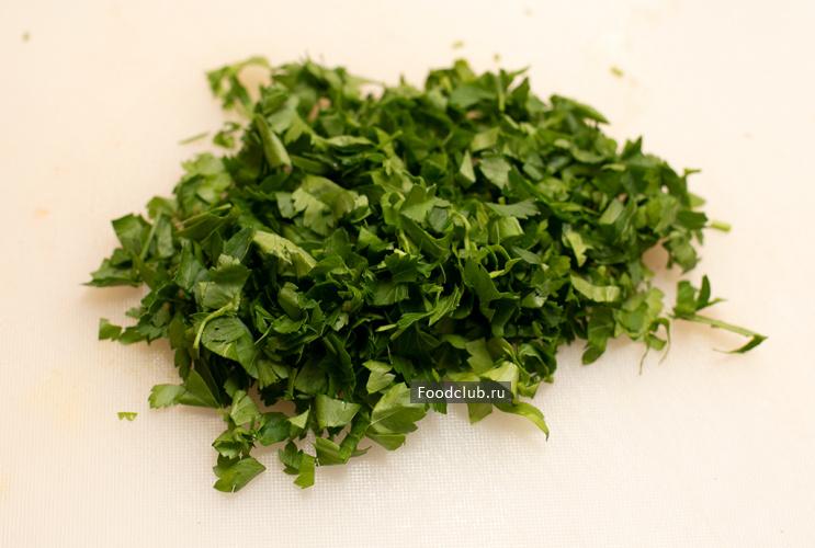 Салат из баклажанов (этап 8)