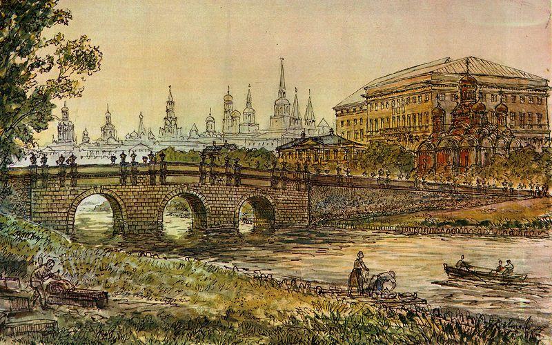 Неглинка: тайная река, которую запрятали в тоннели под Москвой