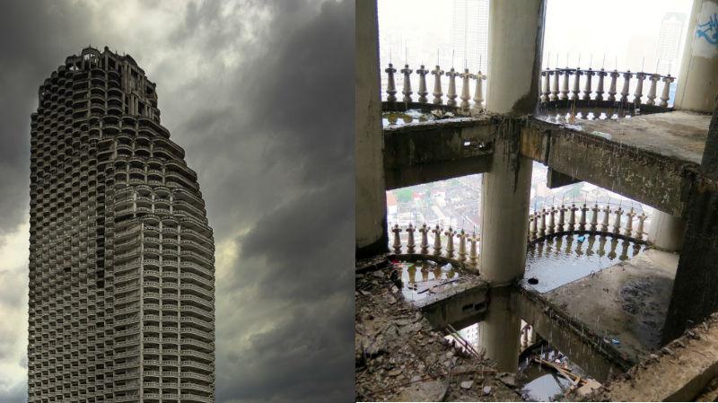 Как выглядит самый большой заброшенный небоскреб в мире