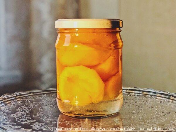 Консервированные в домашних условиях персики