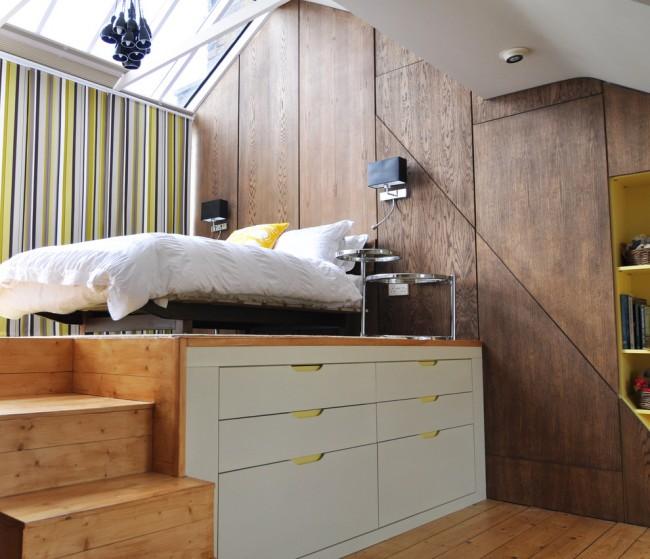 Отличным дизайнерским решением для маленькой спальни будет использование компактной и многофункциональной мебели, которая позволит сэкономить площадь