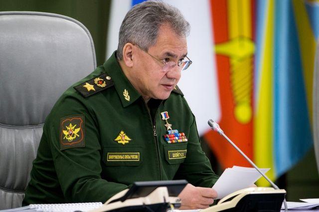 Шойгу подвел итоги приемки военной продукции в первом квартале 2018 года