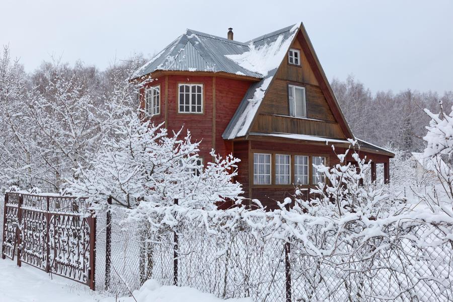 Дача зимой: неотложные работы в саду