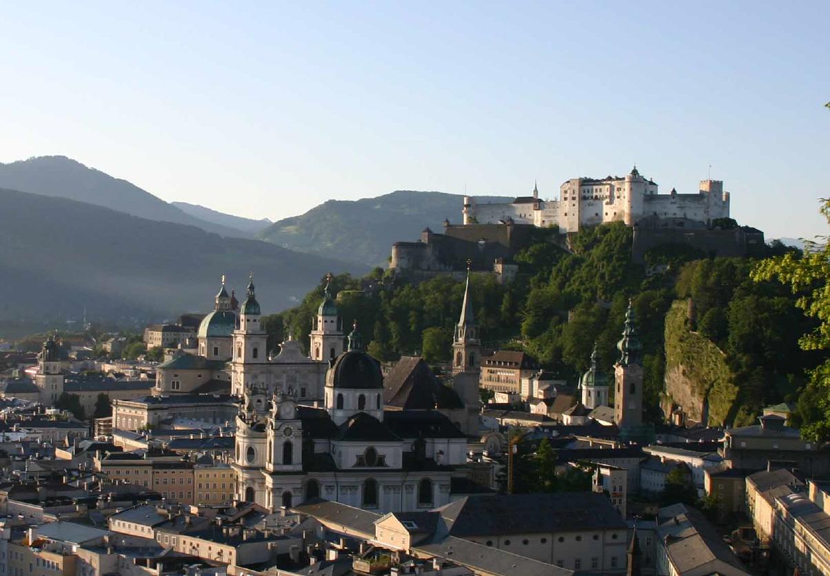 Зальцбург – хранитель истории Австрии