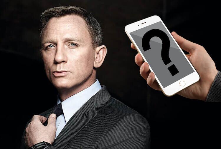 Какой смартфон будет у Джеймса Бонда в новом фильме